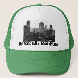 Der schwarze Kult: Maschen-Fernlastfahrer-Hut Truckerkappe
