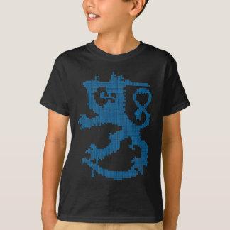 Der schwarze T - Shirt der Sisu Löwe-Kinder