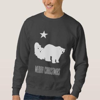 Der Schweiss-Shirt der frohe Weihnacht-polare Sweatshirt