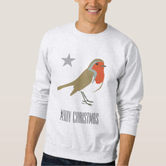 Der Schweiss-Shirt frohe Weihnacht-roter Sweatshirt