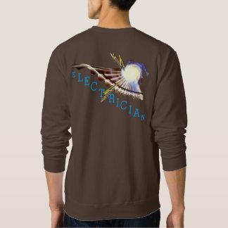 Der Schweiss-T-Shirt des Elektrikers Sweatshirt