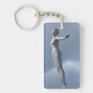 Der Schwimmer, Keychain Schlüsselanhänger