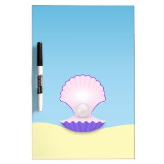 Der Seashell Trockenlöschtafel
