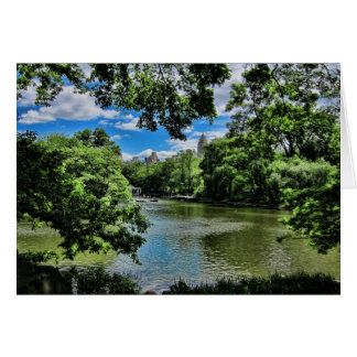 Der See, Central Park Karte