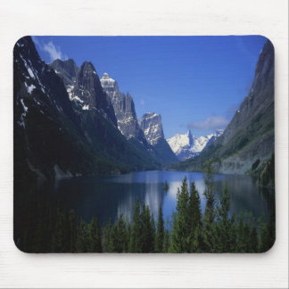 Der See St. Marys, Montana Mousepad
