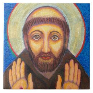 """""""Der Segen von St Francis """" Fliese"""
