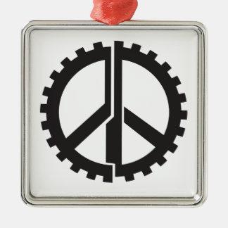 Der SEITE Friedensgang Silbernes Ornament