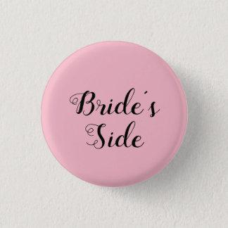 Der Seitenknopf der kundengerechten Braut Runder Button 2,5 Cm