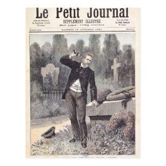 Der Selbstmord von General Georges Ernst Postkarte