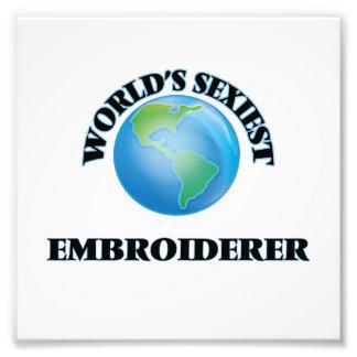 Der sexyste Embroiderer der Welt Photodruck