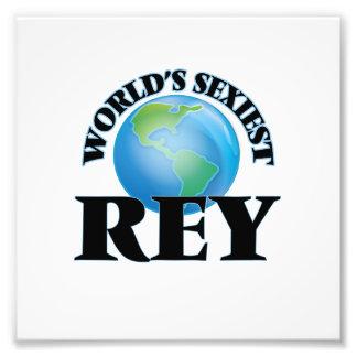 Der sexyste Rey der Welt Photodruck