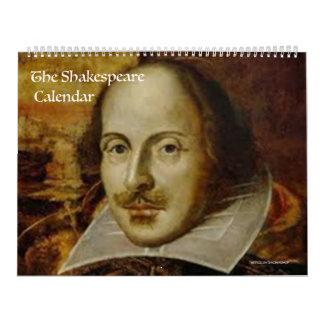 Der shakespeare-Kalender Wandkalender