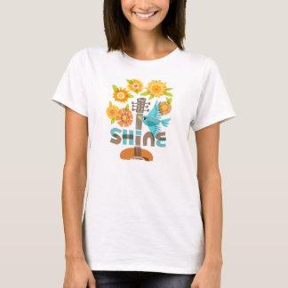 """""""Der Shine-"""" T - Shirt der Frauen"""