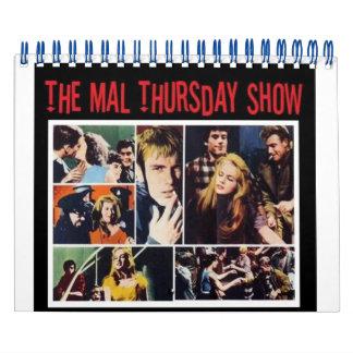 Der Show-Kalender Mal Donnerstag Abreißkalender