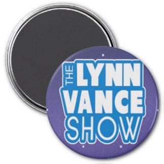 Der Show-Logomagnet Lynns Vance Runder Magnet 7,6 Cm