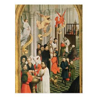 Der sieben SakramenteAltarpiece Postkarte