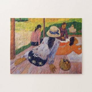 Der Siesta - Paul Gauguin Puzzle