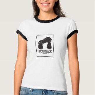 DER SILVERBACK-der KLEIDUNGS Co. der Frauen T-Shirt