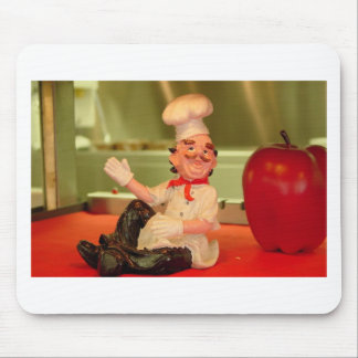 Der sitzende Koch Mousepad