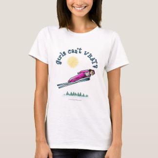 Der Ski-Springen der Frauen T-Shirt