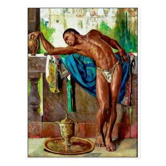 Der Sklave durch Gyula Tornai Postkarte