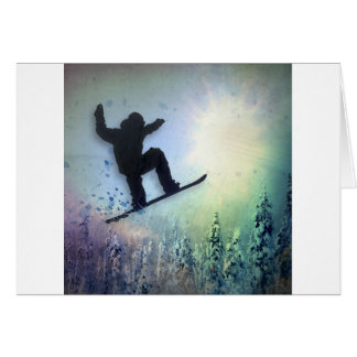 Der Snowboarder: Luft Karte