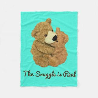 Der Snuggle ist wirkliche Fleece-Decke Fleecedecke