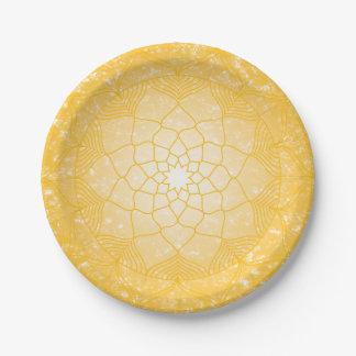 Der SolarPlexus Chakra Pappteller