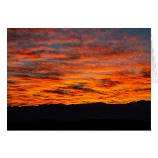 Der Sonnenaufgang des Teufels Karte