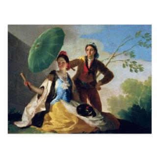 Der Sonnenschirm, 1777 Postkarte