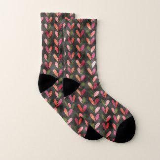 Der Spaß-Herzen des Valentinsgrußes Socken