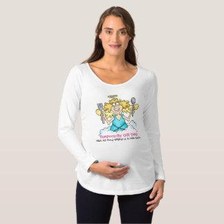 Der Spaß-langer Hülsen-MutterschaftsT - Shirt der