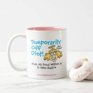 Der Spaß-Mutterschafts-Tasse der Zuckmücke Zweifarbige Tasse