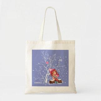 Der spaß-Weihnachtsgeschenk-Taschen des Tragetasche