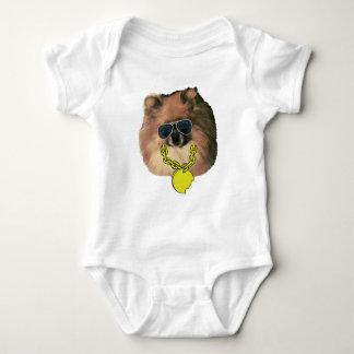Der Spitz-Bodysuit des Babys Baby Strampler