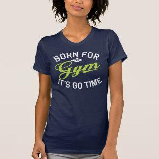 Der Sport der Frauen u. Turnhalle Racerback T - T-Shirt