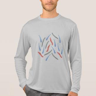 Der Sport-langer Hülsen-T - Shirt der