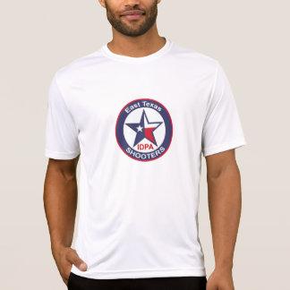 Der Sport-Tek der Männer angepasster Leistungs-T - T-Shirt