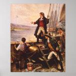 Der Stern Spangled Fahne durch Percy Moran Plakat