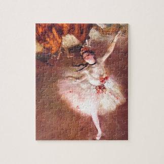 Der Stern (Tänzer auf der Bühne) durch Edgar Puzzle