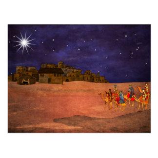 Der Stern über Bethlehem Postkarte