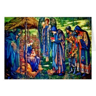 Der Stern von Bethlehem durch William Burne-Jones Karte