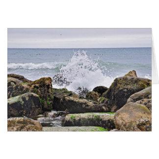Der Strand bei Montauk, NY Karte