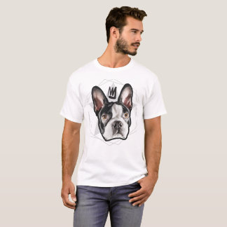 Der Streetwear der Männer: König Boston Terrier T-Shirt