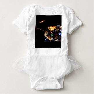 Der Streifen Baby Strampler