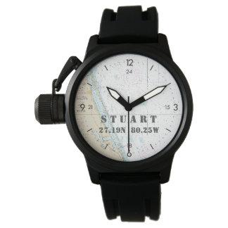 Der Stuart FL der Seebreite-Länge-Kreissäge Uhr