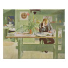 Der Studien-Raum, 1908 durch Carl Larsson Poster