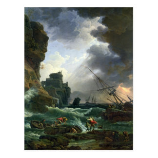 Der Sturm, 1777 Postkarte
