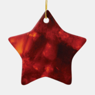 der Sturm der Hitze Keramik Stern-Ornament