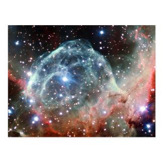 Der Sturzhelm-Nebelfleck-Raum des Thors Postkarte